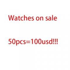 50pcs watches