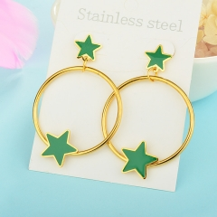 New Stainless Steel Fashion Drop Earring XXXE-0084